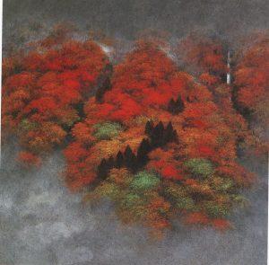 久保嶺爾の日本画