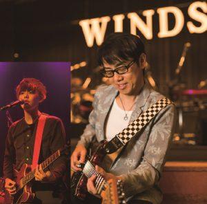 ウインズ平阪のトーク&ライブ