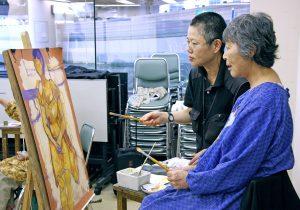 田川絵理の洋画